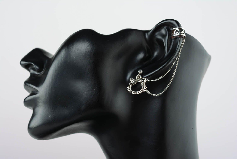 Metal ear cuffs  photo 1