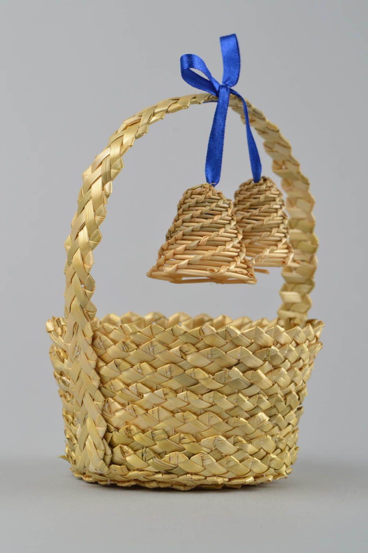 Плетения корзин из соломки