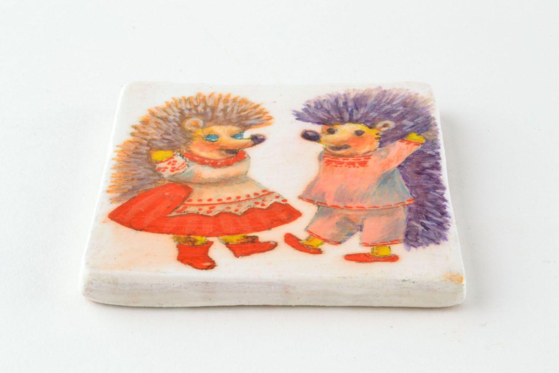 Ceramic fridge magnet photo 4