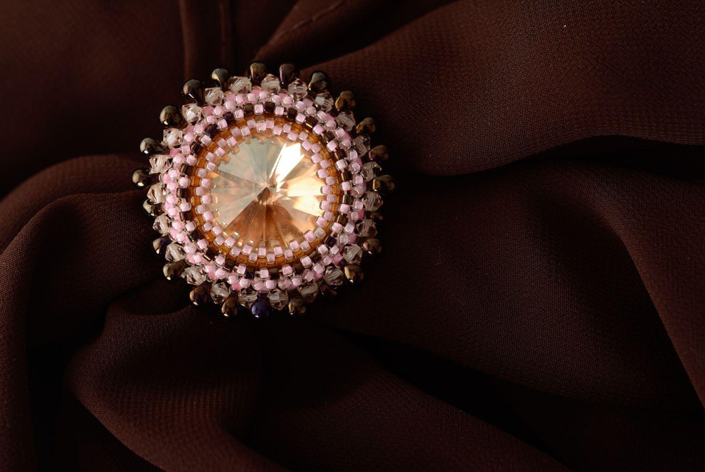 anillos para pañuelos Pinza para bufanda de abalorios - MADEheart.com