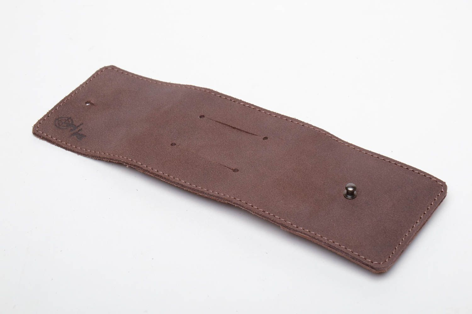 Leather case for five cartridges of 7,62 caliber photo 4