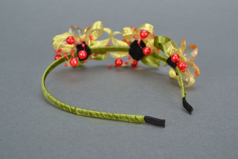 Organza headband photo 5