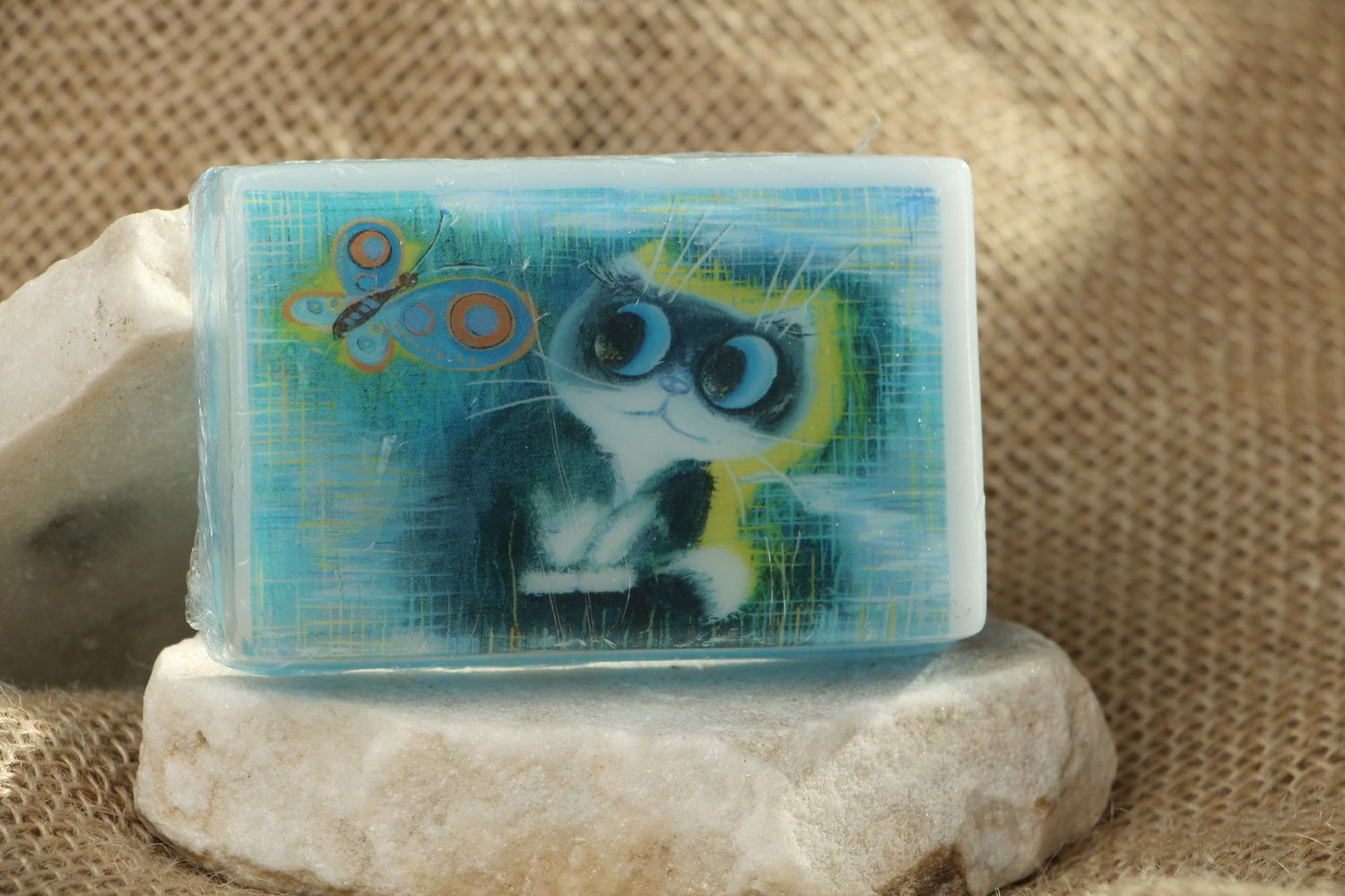 Handmade soap with the scent of oranges photo 2