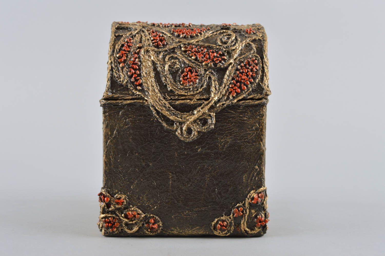 MADEHEART > joyero original hecho a mano artesanía papel mache ...