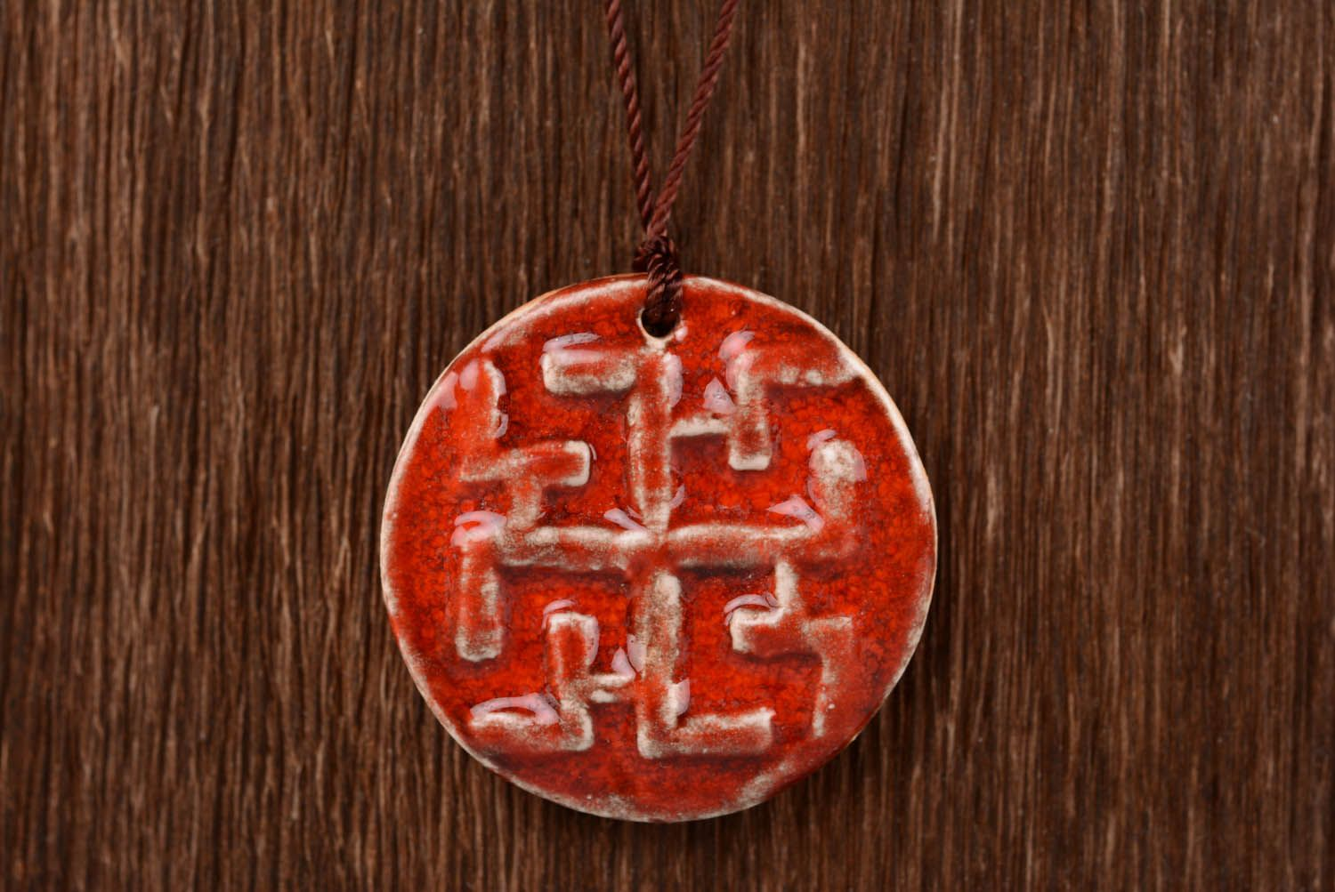 Ceramic Slavic amulet Dukhobor photo 4