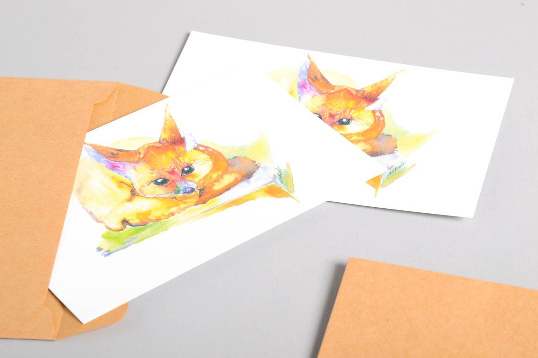 Handmade card unusual greeting card designer card for signature gift ideas photo 4