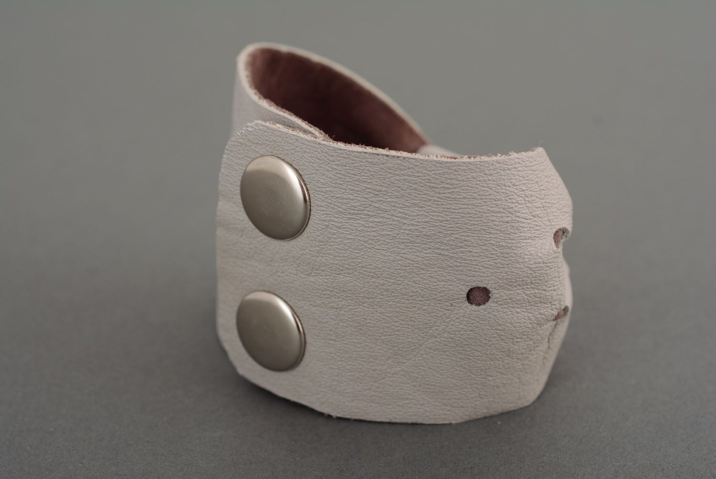 Women's leather bracelet photo 2