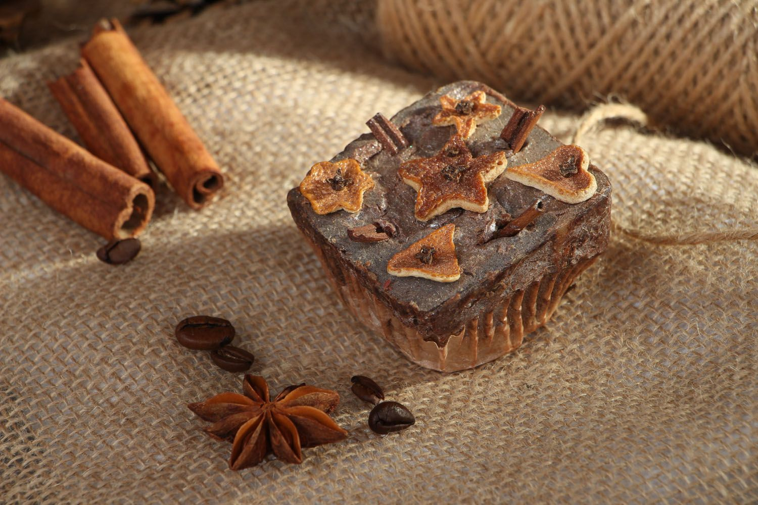 Figured soap with spices photo 4