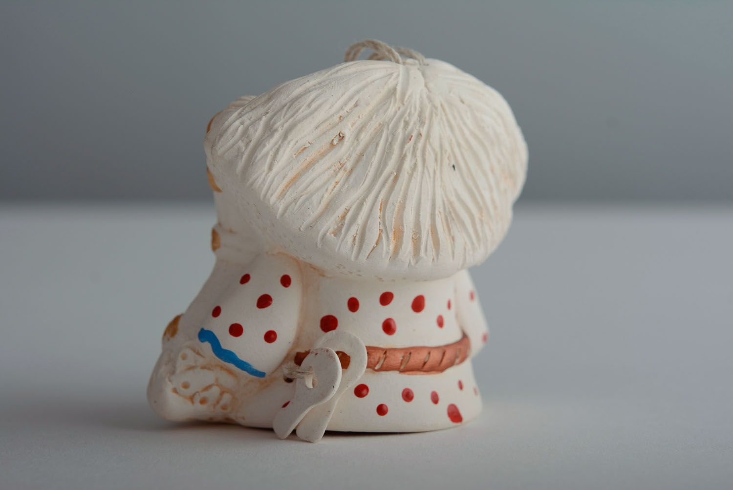 Designer ceramic bell Brownie photo 5