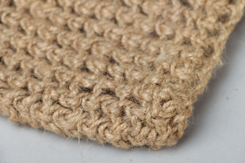 Crocheted body scrubber photo 3