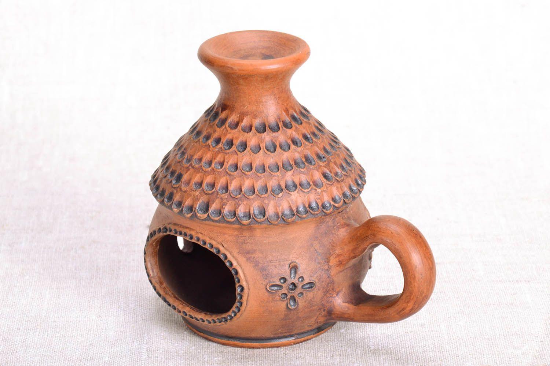 Ceramic handmade aroma lamp photo 2