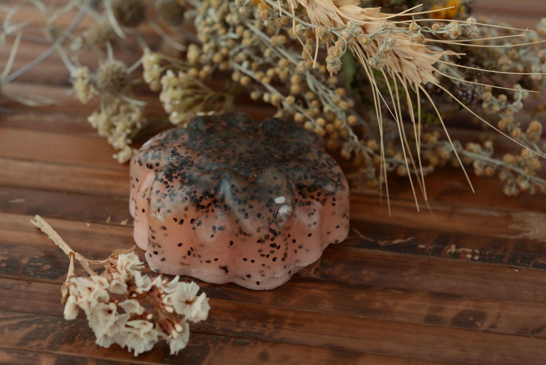 Natural soap Poppy photo 4