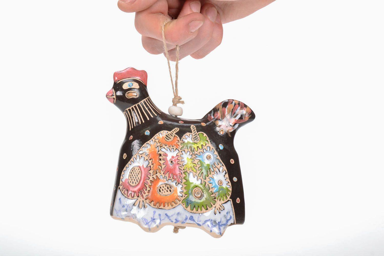 Indoor bell pendant Rooster photo 5