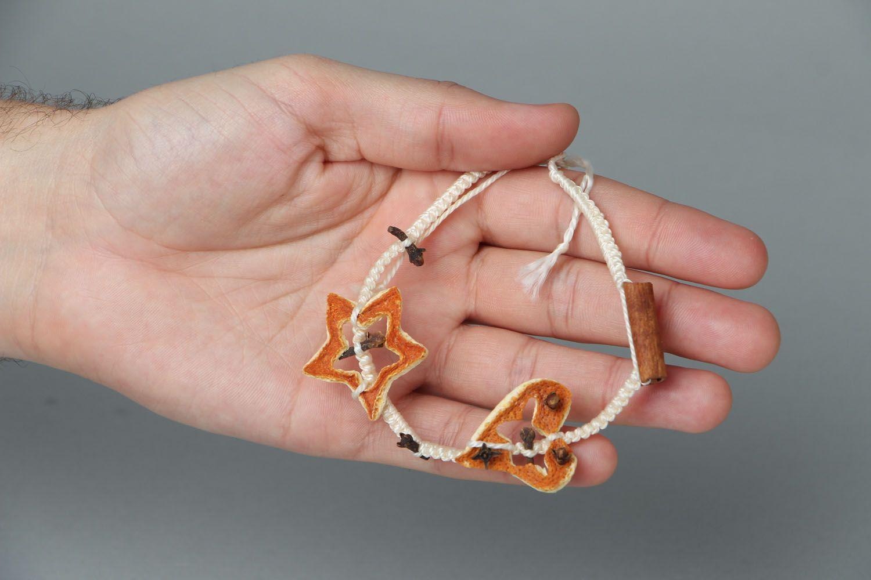 Woven friendship bracelet Spice photo 4
