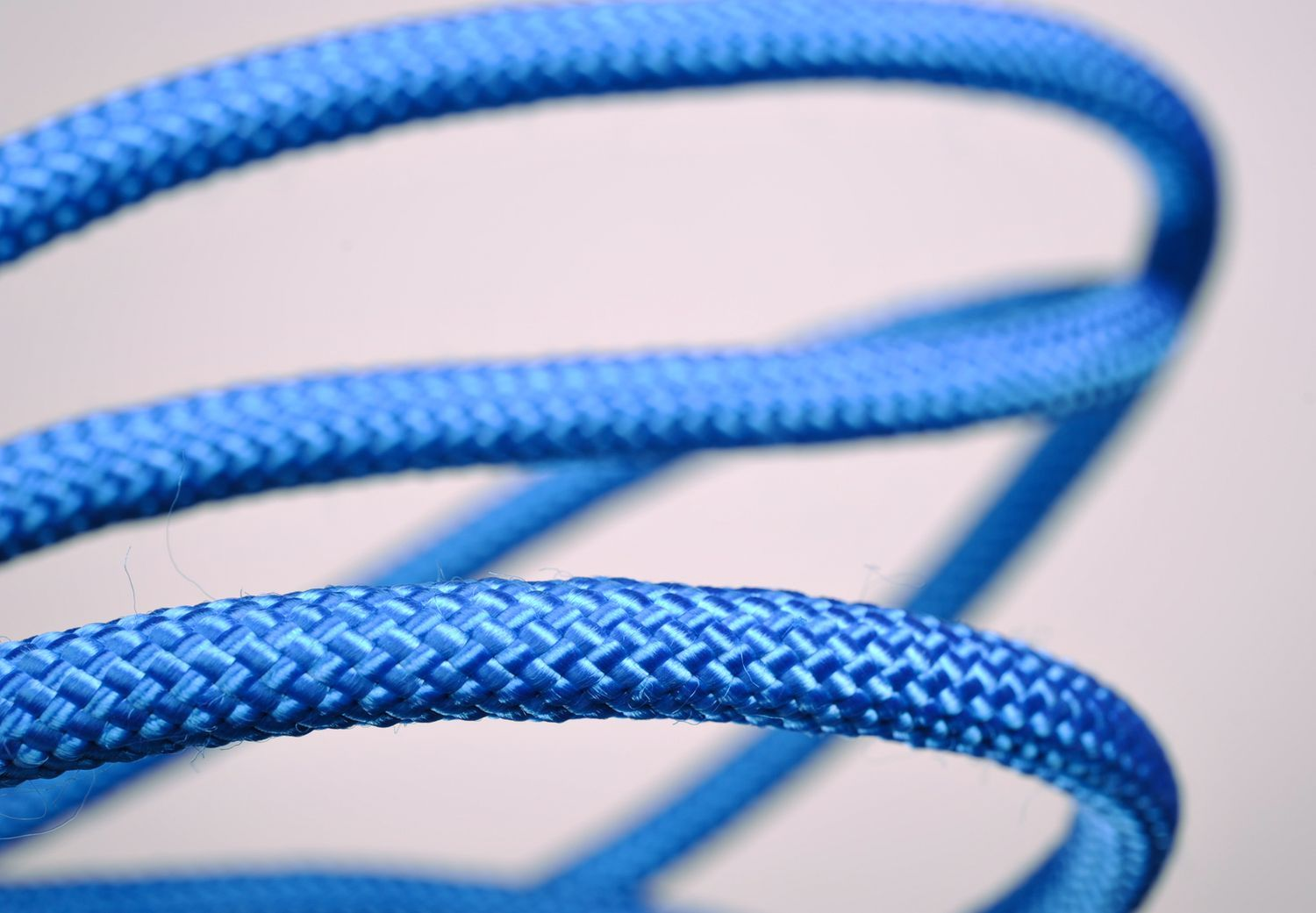 Rope with a knot for yoga practice  photo 4