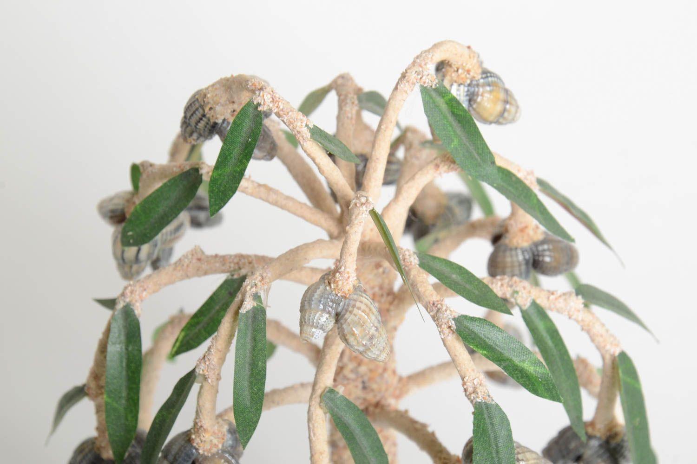 Handmade tree table decor tree with flowers unusual tree decor ideas home decor photo 4
