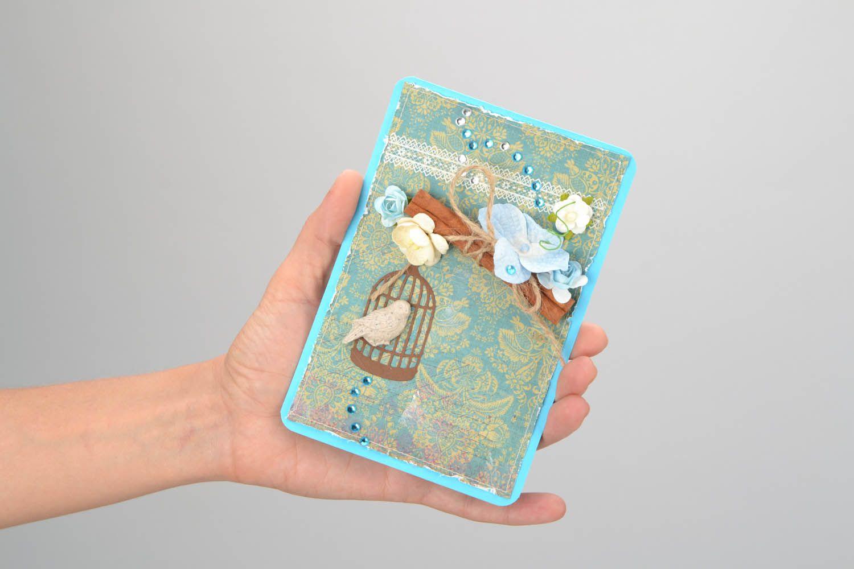 Designer's postcard with bird photo 2