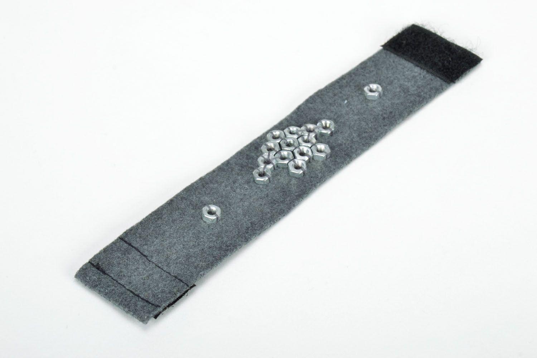 Filz Armband mit Aufschlägen foto 2