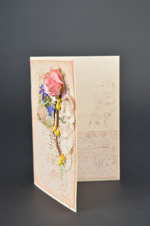 Handmade birthday card unusual collection postcard beautiful souvenir photo 3