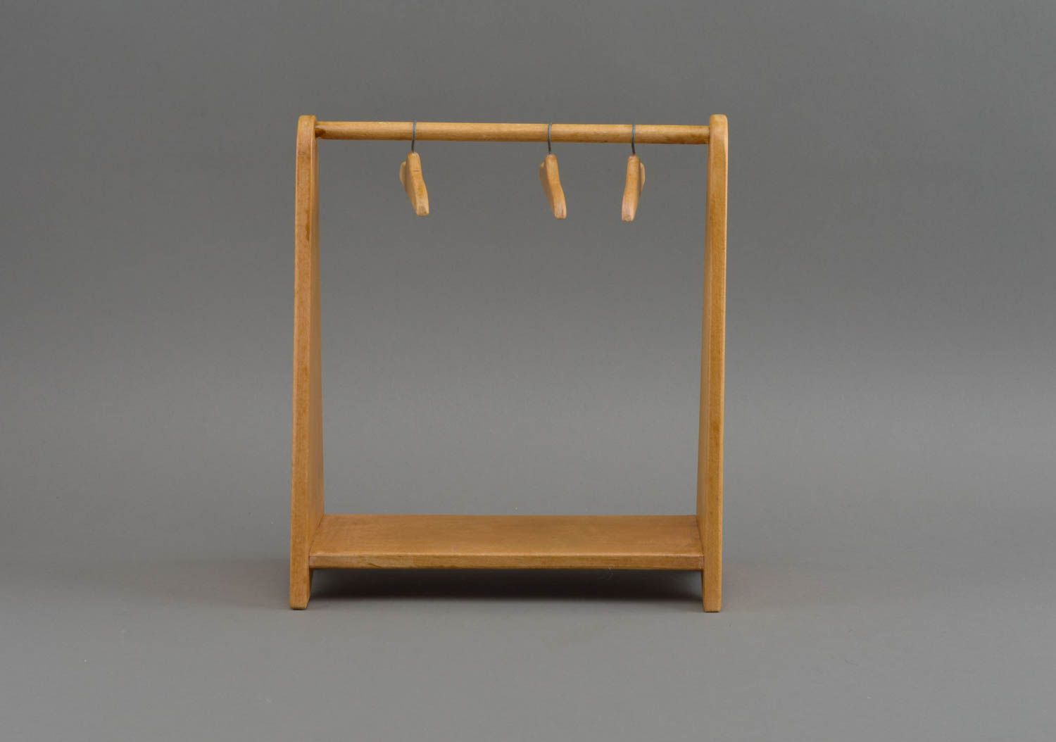 Toy stand for clothes unusual decorative hangers home decor accessory - MADEheart.com