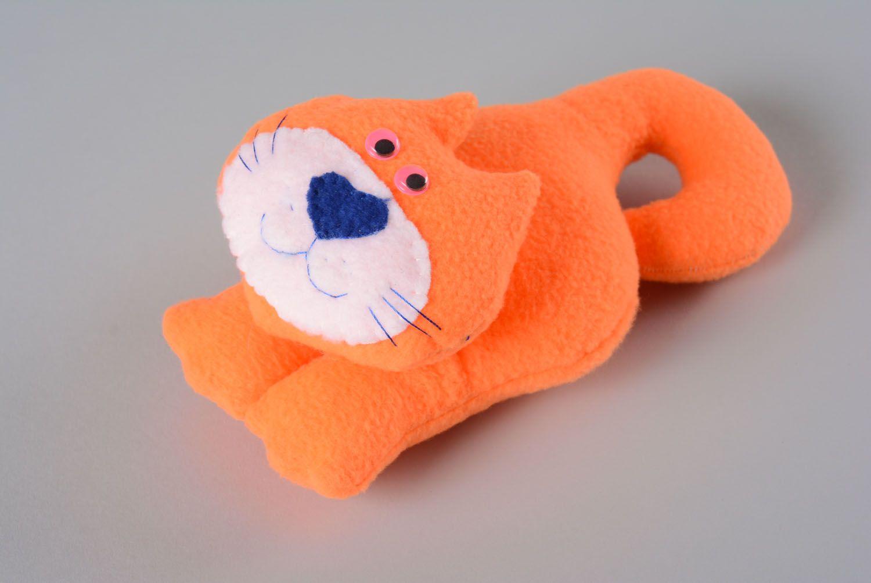 Soft toy for the door handle Orange Cat photo 1
