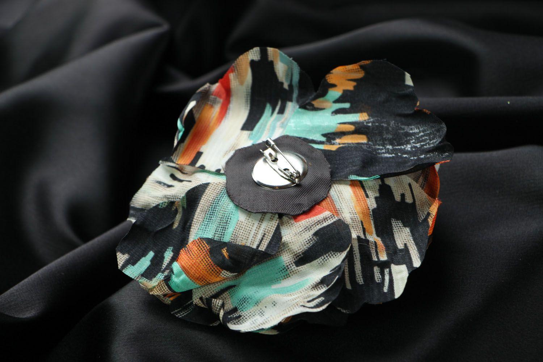 Silk brooch photo 3