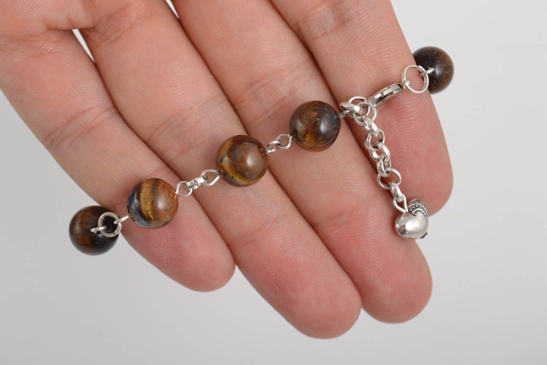 pulseras de piedras Pulsera de piedras naturales hecha a mano regalo para mujer bisutería artesanal ,