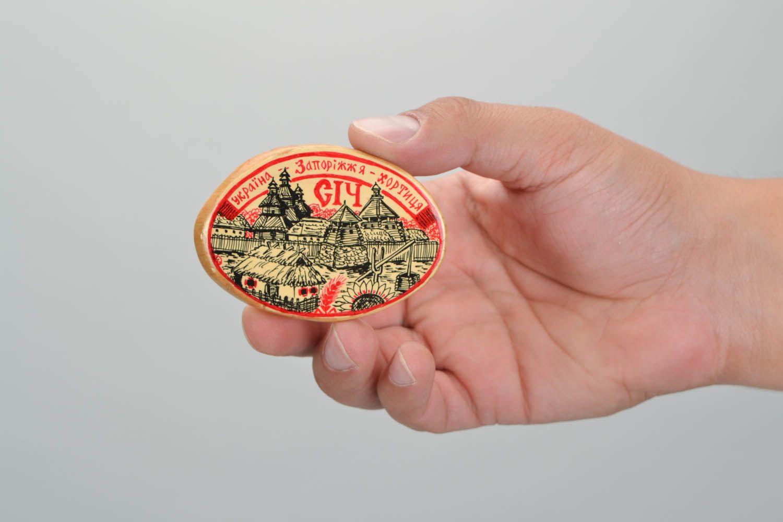 Wooden magnet for fridge photo 2