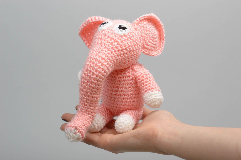Вязание игрушек крючком слоник