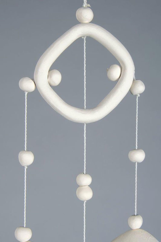 Ceramic bells on pendant photo 2