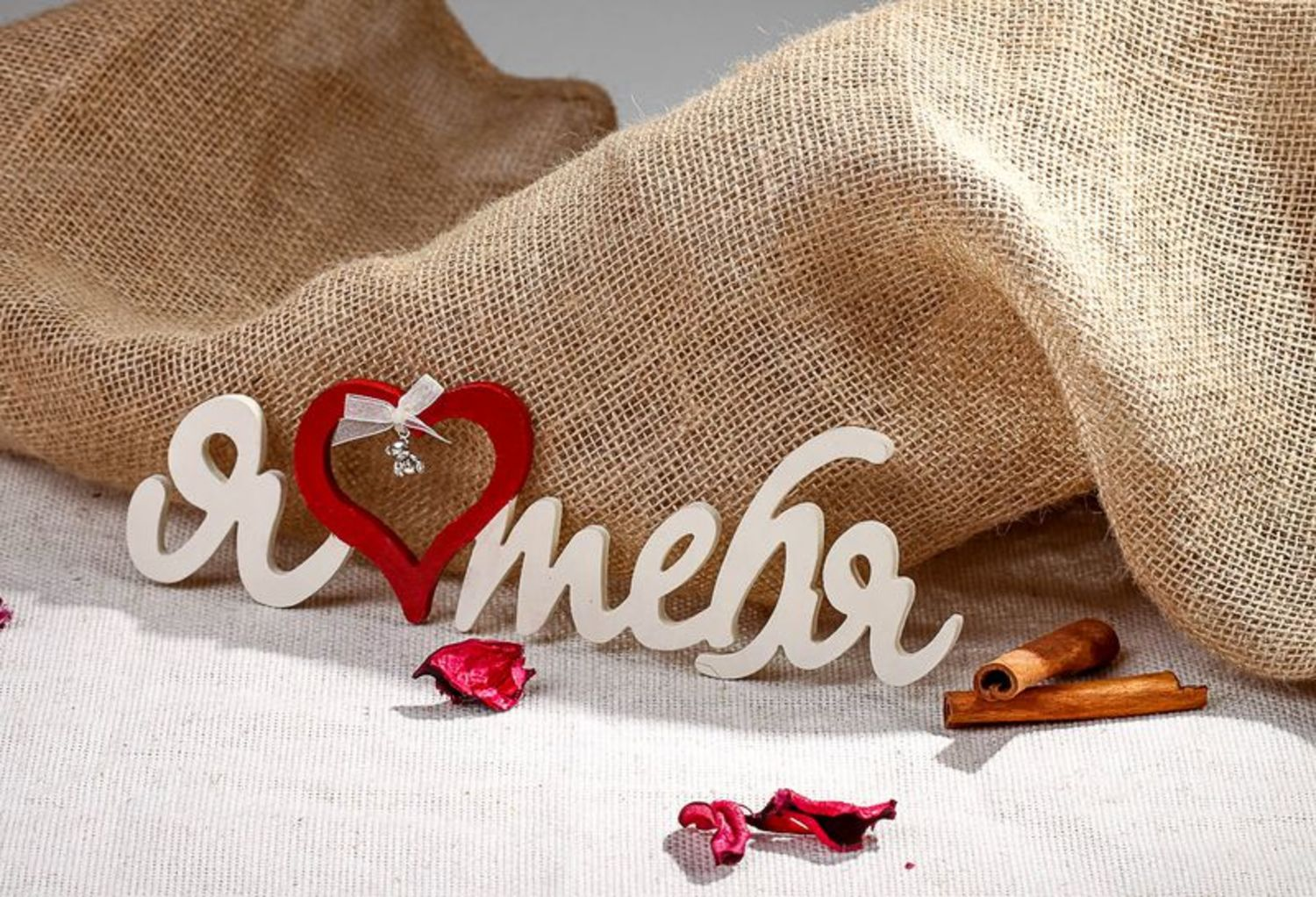 Chipboard lettering for crapbooking I love you photo 1