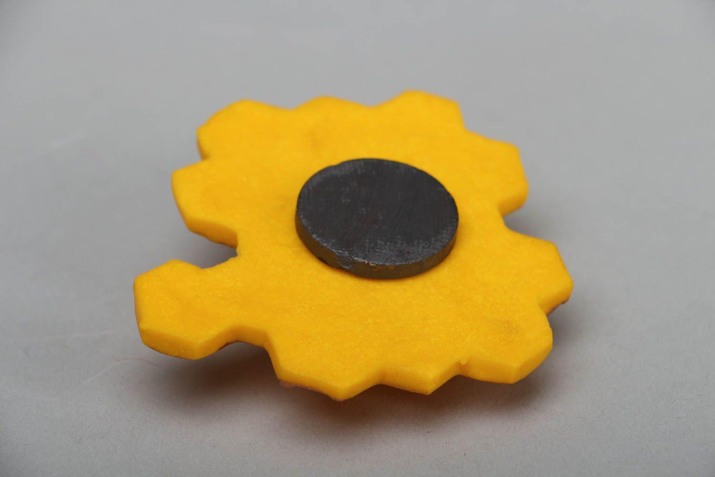 Decorative fridge magnet Bee photo 3