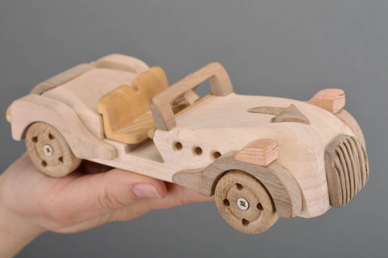 Madeheart juguete de madera ecol gico cabriol para - Jugueteros de madera ...