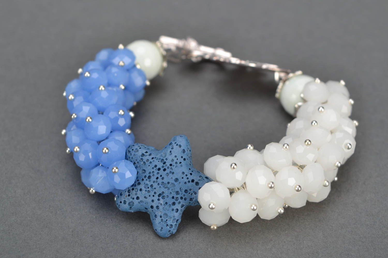 Natural stone wrist bracelet photo 4