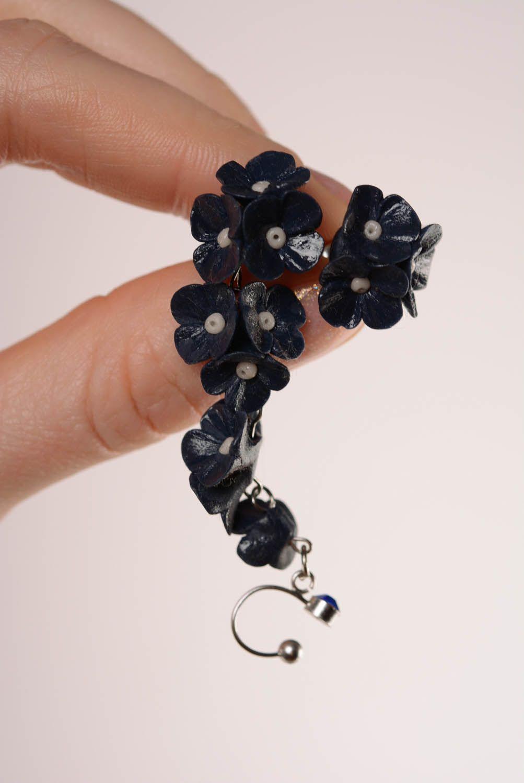 Designer's cuff earrings Twilight photo 4