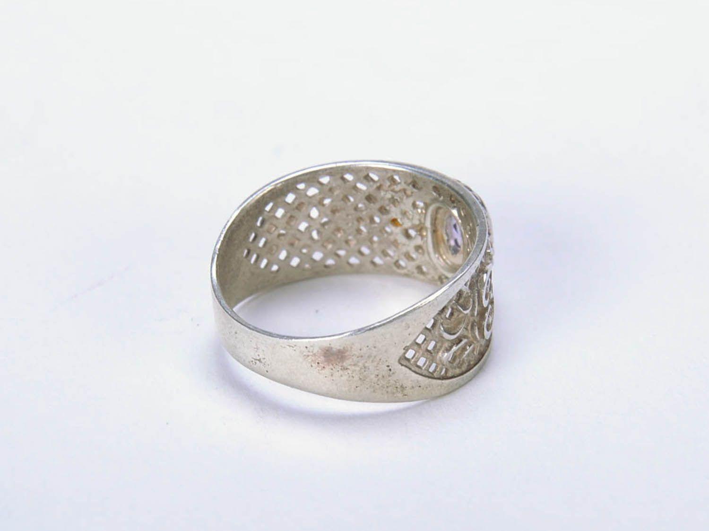 Handmade silver ring  photo 2