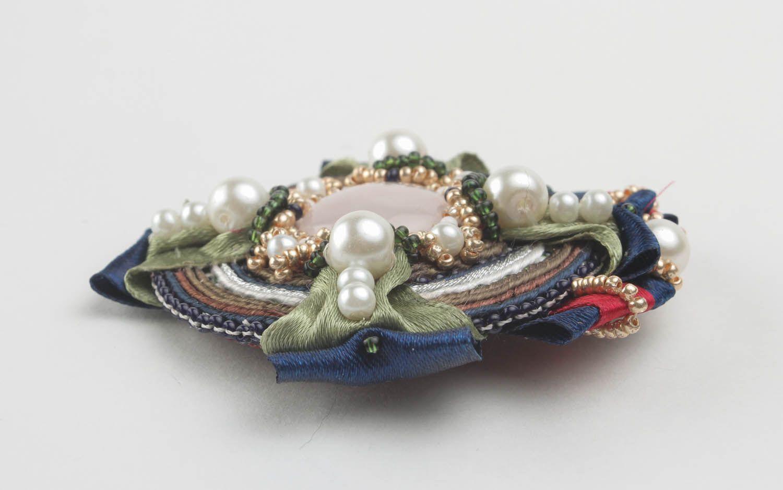 Soutache brooch decoration photo 2