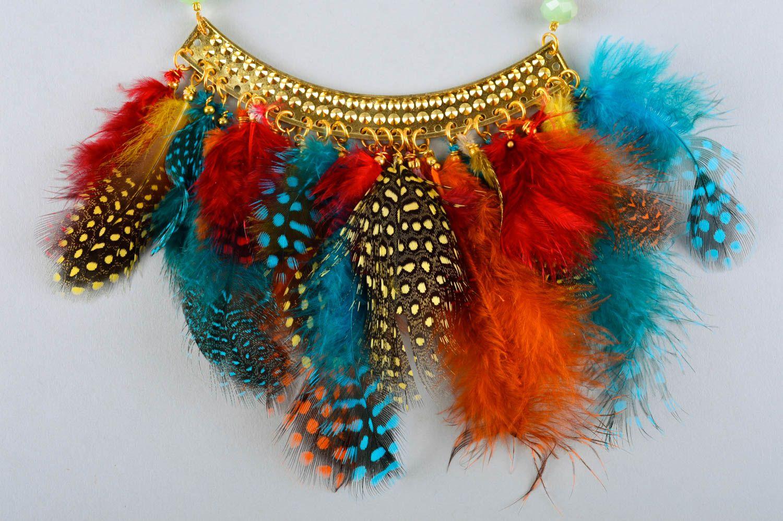 Handmade stylish jewelry elite designer accessories feminine cute present photo 3