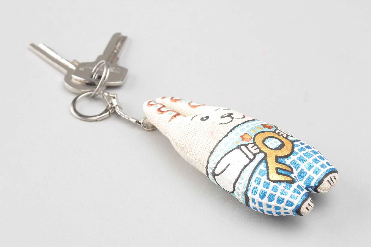 keychains Hand painted soft keychain