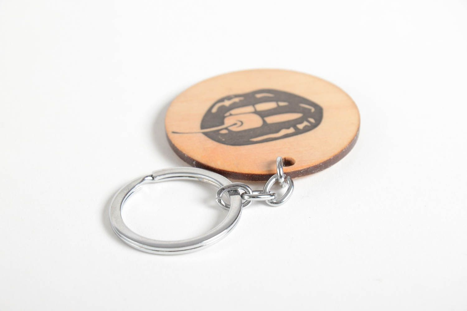 keychains Designer accessories handmade wooden key chain designer keyrings gifts for girls - MADEheart.com
