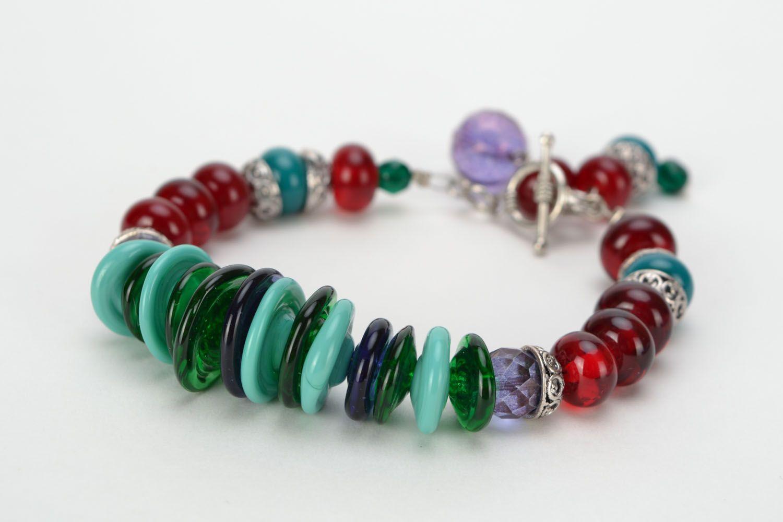 Festive glass bracelet photo 1