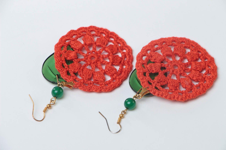 Beautiful handmade jewelry stylish cute accessory designer unusual earrings photo 4