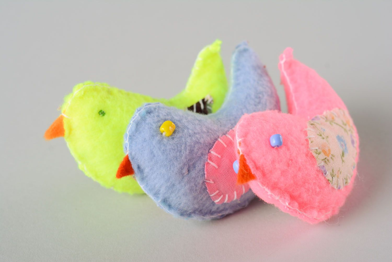 Set of soft toys Birdies photo 1