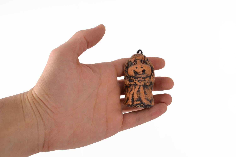 Handmade ceramic bell photo 4
