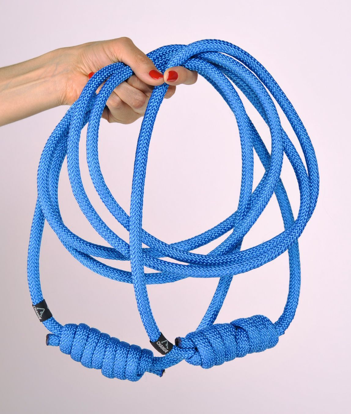 Rope with a knot for yoga practice  photo 5