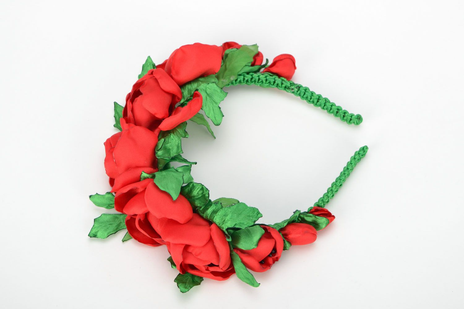 Hair band Scarlet Poppies photo 3