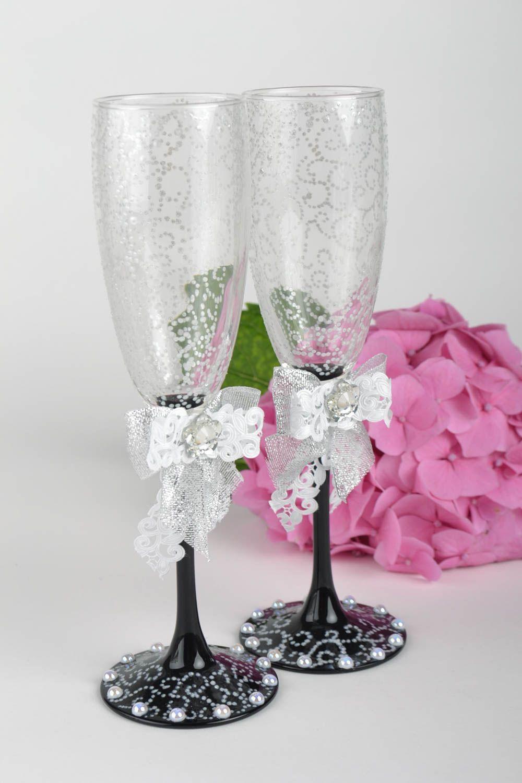 Madeheart copas para novios hechos a mano vasos de for Copas decoradas a mano