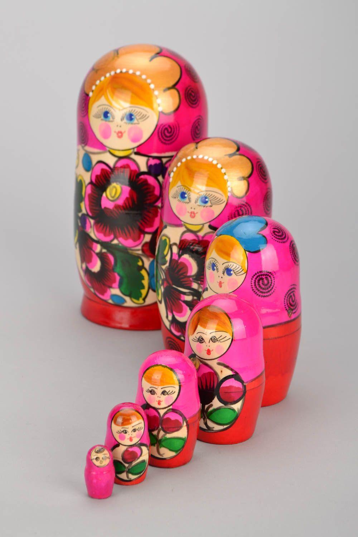 Russian folk toy Matryoshka photo 2