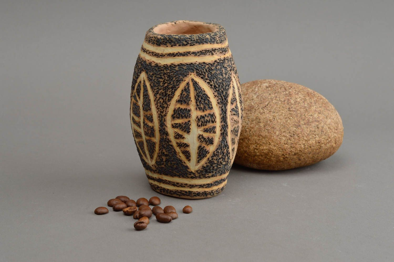 Madeheart florero artesanal de arcilla para decorar la for Decoracion en ceramica artesanal