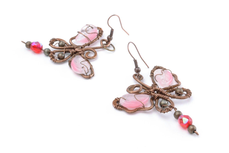Copper earrings Dream photo 3